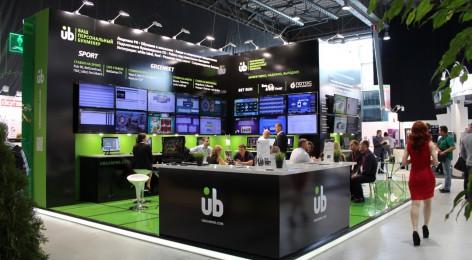 Выставочный стенд UB|GAMING на выставке RGW